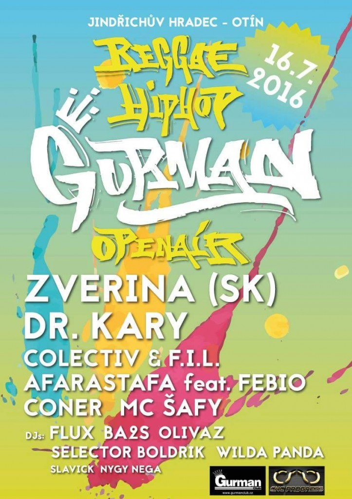 ★ GURMAN ★ Hip Hop & Reggae open air ★